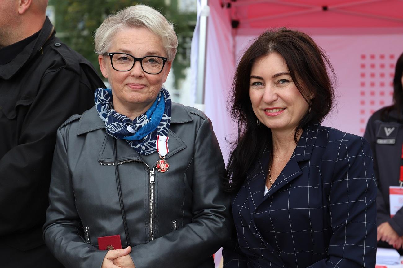 Na zdjęciu dwie kobiety